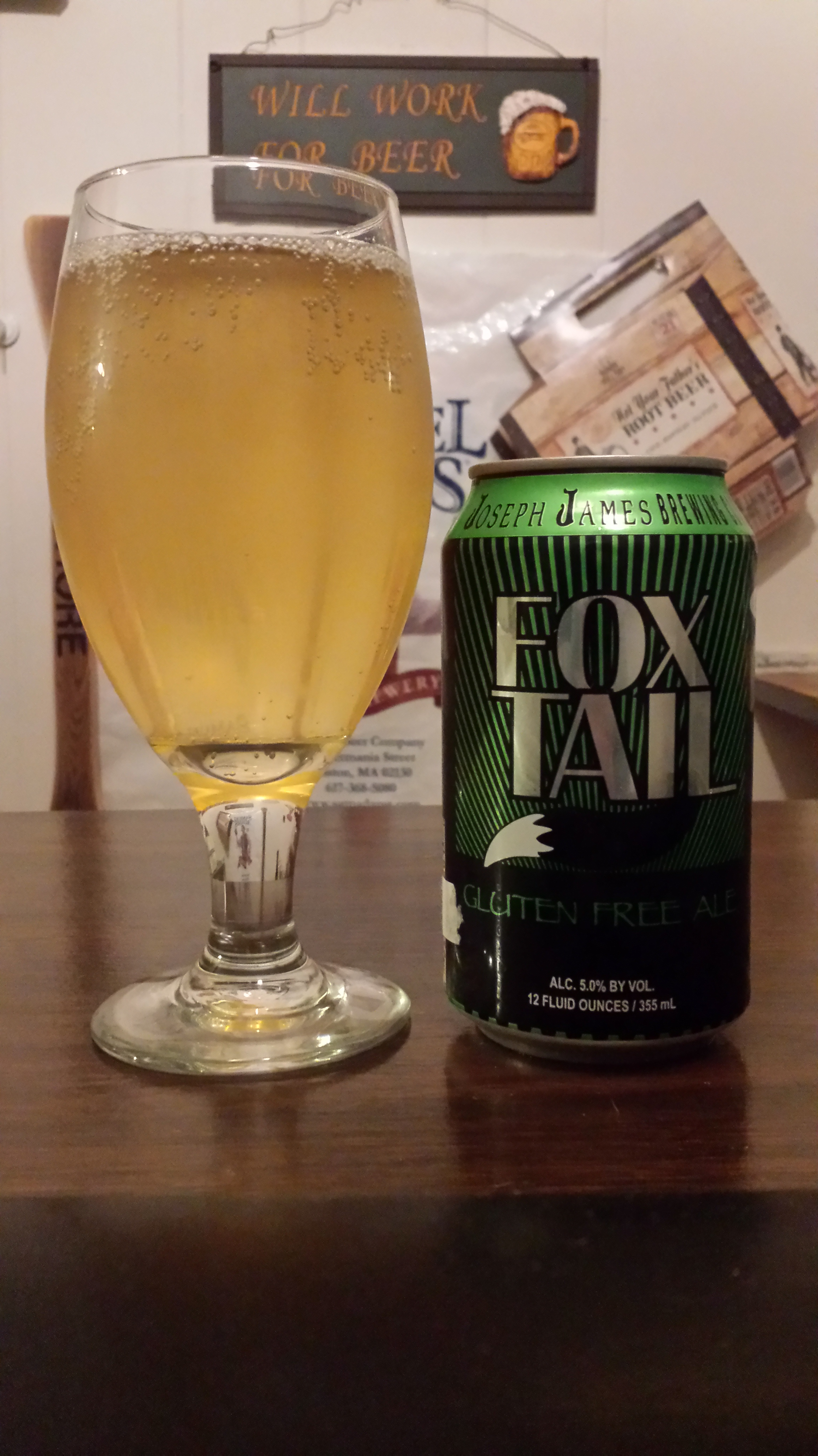 the beer list: fox tail gluten-free ale | the no seatbelt blog